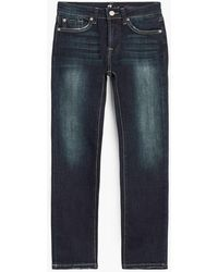 7 For All Mankind - Boy's 8-16 Slimmy In Los Angeles Dark - Lyst