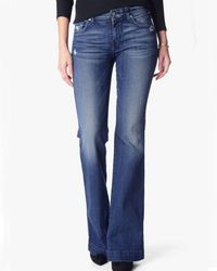 7 For All Mankind - Dojo Original Trouser In Lake Blue - Lyst
