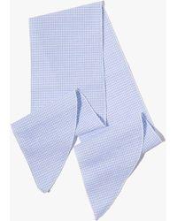 7 For All Mankind - Donni Denim Gigi Cotton Necktie - Lyst