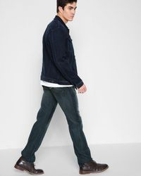 7 For All Mankind - Airweft Denim Austyn Relaxed Straight In Riptide - Lyst