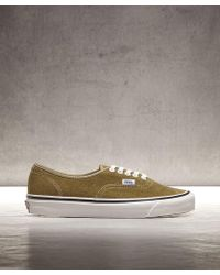 Vans - Anaheim Authentic 44 Dx Suede Og Trainer - Lyst 60be59676