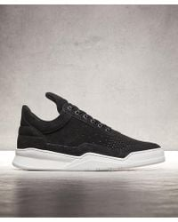 Filling Pieces - Low Top Ghost Suede Trainer - Lyst