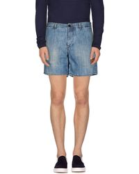 Balmain | Denim Shorts | Lyst