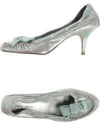 Nine West Court silver - Lyst
