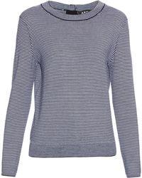 A.P.C.   Striped Merino-wool Sweater   Lyst