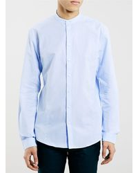 Topman Selected Homme Blue Shirt - Lyst