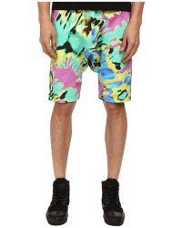 Love Moschino Tie-Dye Jogging Shorts - Lyst