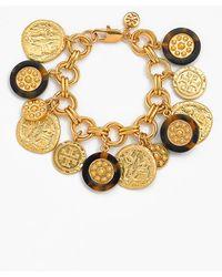Tory Burch 'Shiloh' Charm Bracelet - Lyst