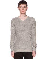 Diesel Alexir Sweatshirt Hood gray - Lyst