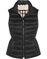 Burberry Brit - Quilted Shell Down Gilet - Lyst
