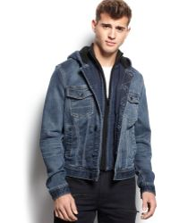 Guess Hooded Dillon Jacket - Lyst