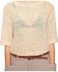 Forever 21 Ribbon Yarn Sweater - Lyst