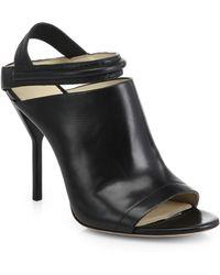 3.1 Phillip Lim Martini Strappy Leather Open-Toe Sandals - Lyst
