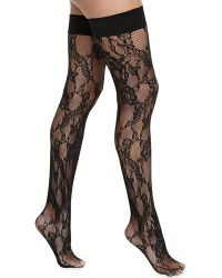 Wolford Evelyn Stayup Thighhigh Stockings - Lyst