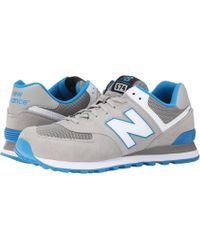 New Balance | gray Ml574 - Core Plus Collection | Lyst