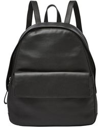 Skagen - 'aften' Leather Backpack - Lyst