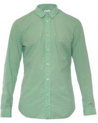 Maison Margiela Slim-Fit Cotton Shirt - Lyst