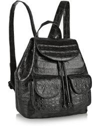 Nancy Gonzalez - Glossed-Crocodile Backpack - Lyst