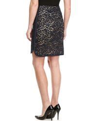 J. Mendel Lace Slash-Pockets Skirt - Lyst