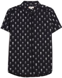 Chinti & Parker Pineapple Shirt blue - Lyst