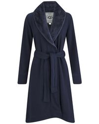 UGG - Women's Duffield Double Knitted Fleece Collection Dressing Gown - Lyst