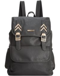 Rampage Chevron Hardware Backpack - Lyst
