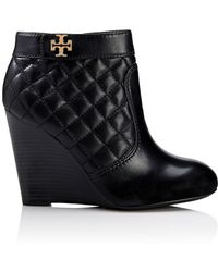Tory Burch Leila Wedge Bootie - Lyst