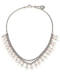 Giles & Brother | Thorn Charm Two-chain Necklace | Lyst