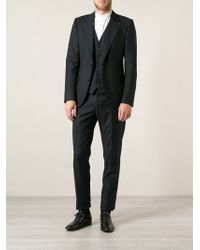 Dolce & Gabbana Microdots Threepiece Suit - Lyst
