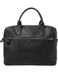 Mango - Willy5-e C Zip-pocket Pebbled Tote Briefcase - Lyst