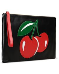 Red Valentino   Cherries Clutch   Lyst