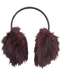 Uniqlo - Women Faux Fur Ear Warmer - Lyst