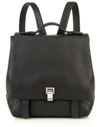 Proenza Schouler Courier Leather Backpack - Lyst