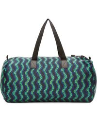 Marc By Marc Jacobs - Green Neon Print Ikat Duffle - Lyst