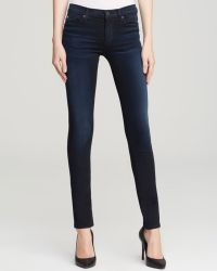 Hudson  Shine Mid Rise Skinny Jeans - Lyst