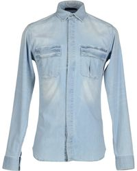 Superfine - Denim Shirt - Lyst