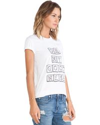 Markus Lupfer Oh My Goodness Tee - Lyst
