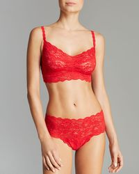 Cosabella Bra and Hot Pants Set Never Say Never Sweetie - Lyst