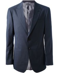 Giorgio Armani Two Button Suit - Lyst