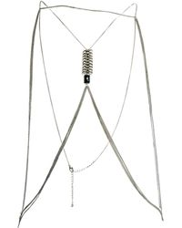 Asos Spine Body Harness - Lyst