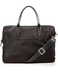 Ben Minkoff - Nylon Fulton Briefcase - Lyst