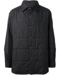 Raf Simons Padded Shirt Jacket - Lyst
