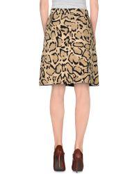 Gucci | Knee Length Skirt | Lyst
