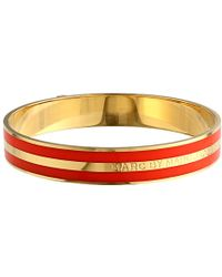 Marc By Marc Jacobs Classic Marc Enamel Striped Bangle - Lyst