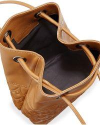 Reece Hudson - Bowery Small Bucket Bag - Camel - Lyst