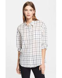 Elizabeth And James 'Carine' Shirt - Lyst