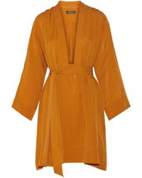 Isabel Marant Zali Silk-Georgette Dress - Lyst