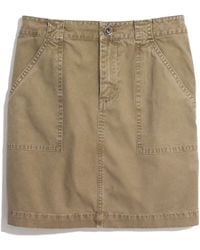Madewell Khaki Walker Mini - Lyst