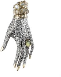 Alexis Bittar Jardin Mystã¨Re Hand Pin gold - Lyst