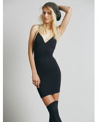 Free People Seamless Cross Back Mini - Lyst